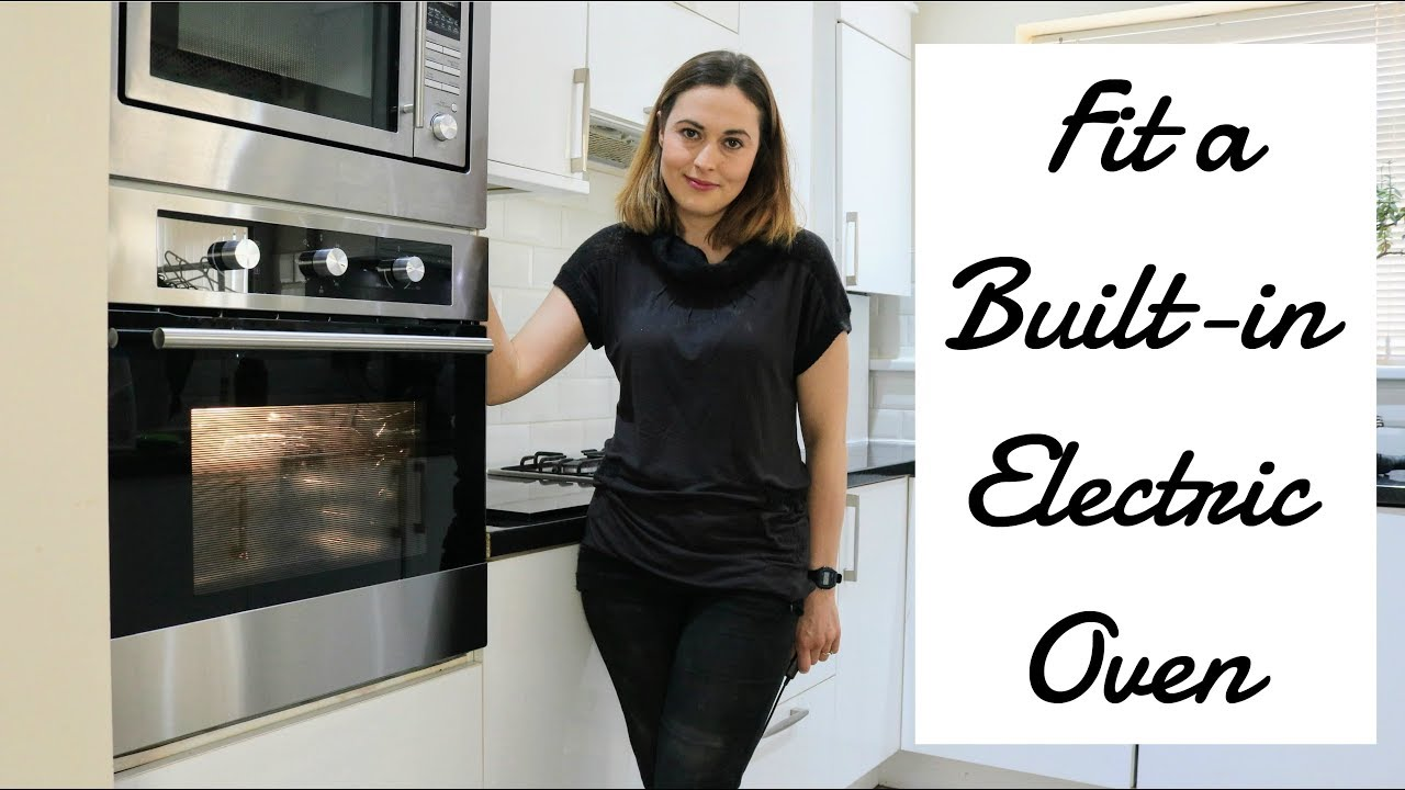 installing a single built in electric oven the carpenter s daughter