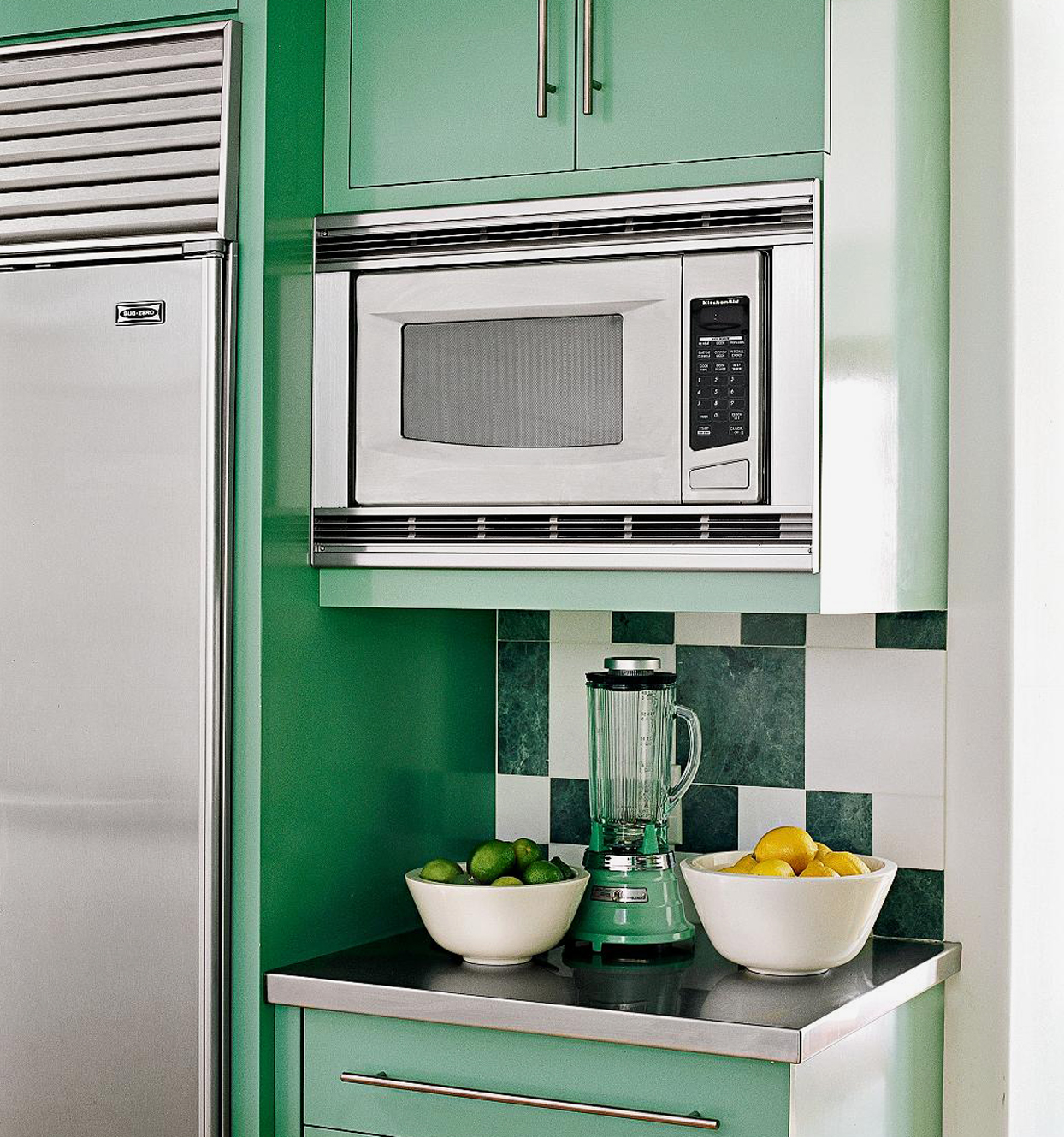 how to integrate a microwave for a more
